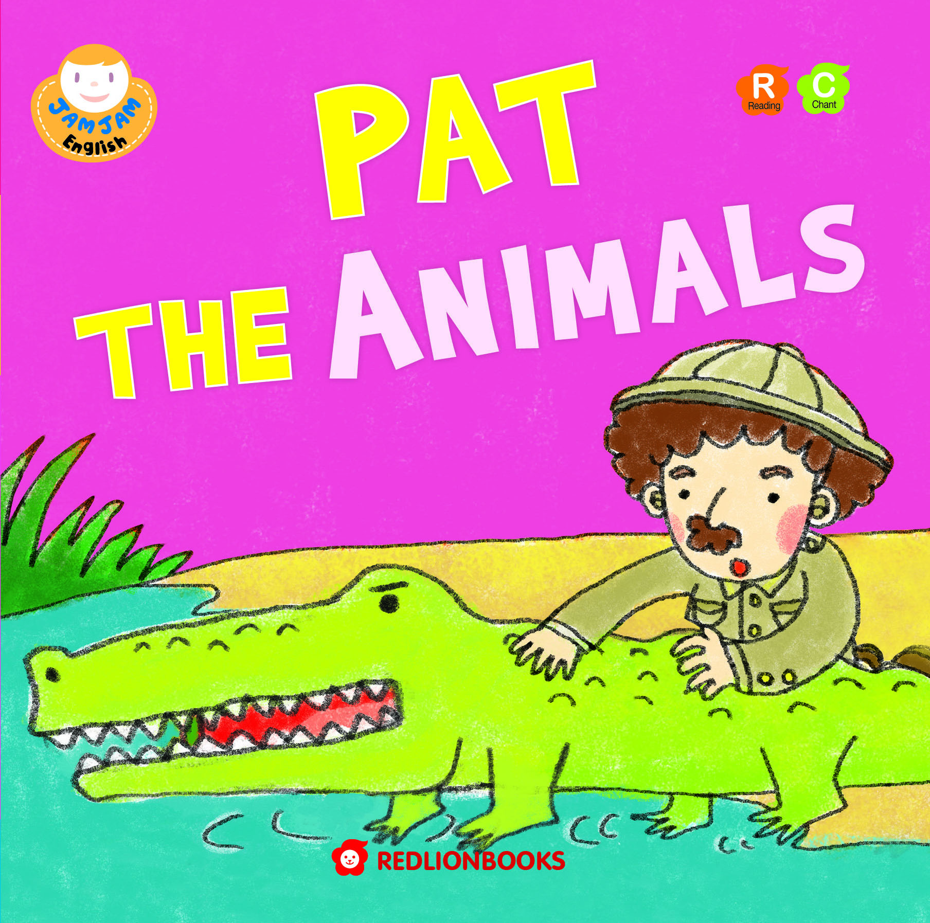 JAMJAM Enaglish PAT THE ANIMALS
