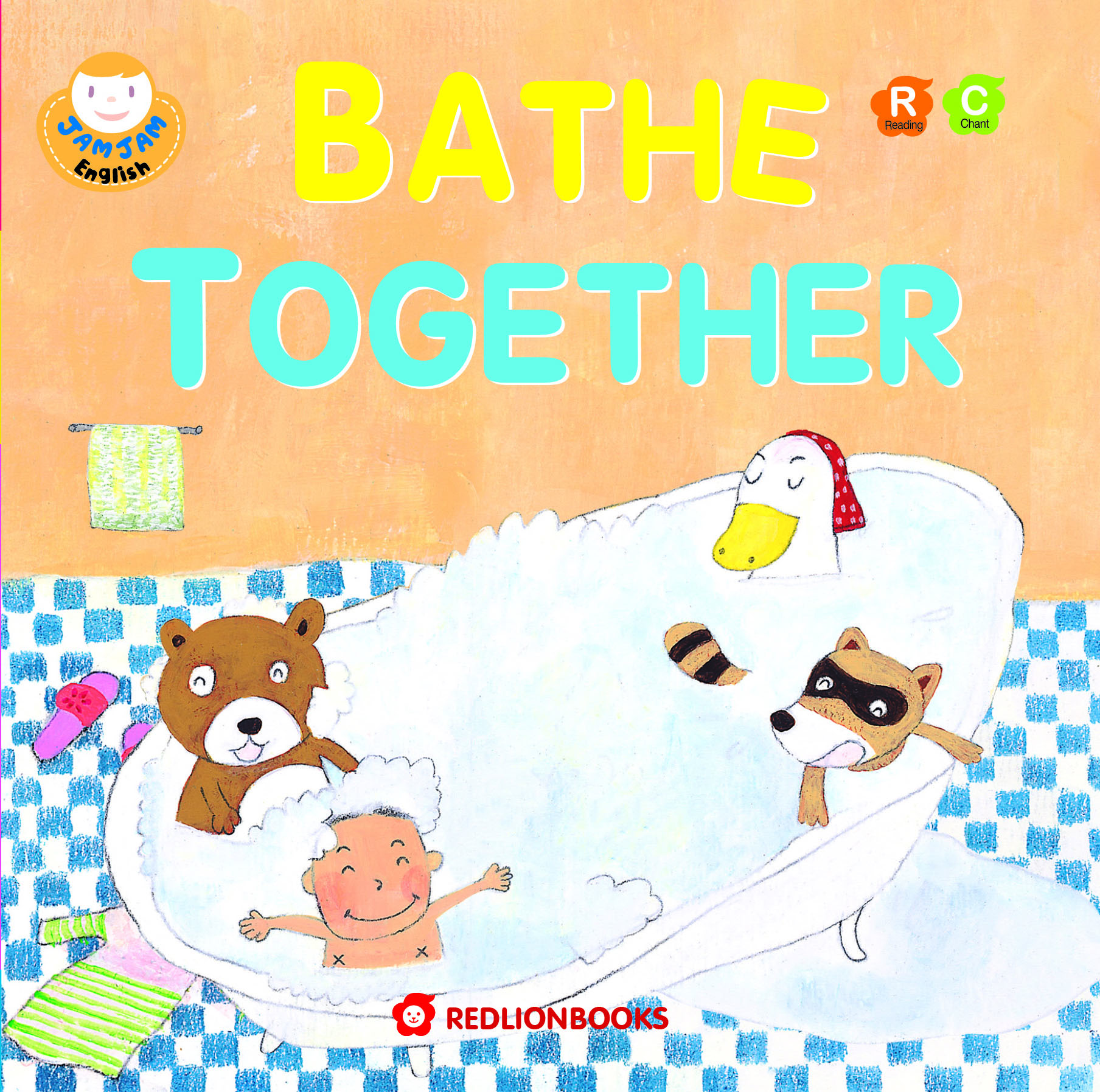 JAMJAM Enaglish BATHE TOGETHER