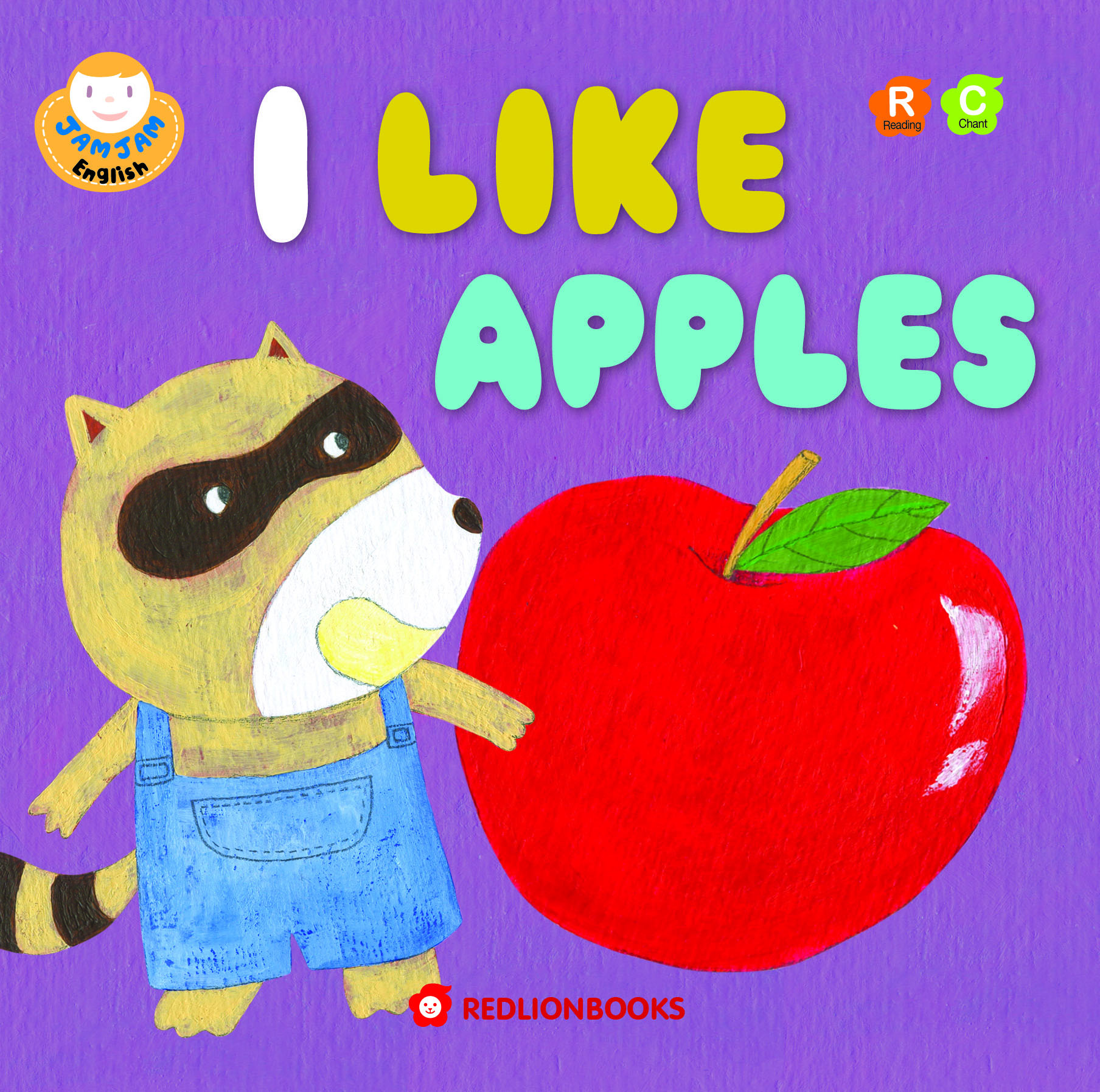 JAMJAM Enaglish I LIKE APPLES